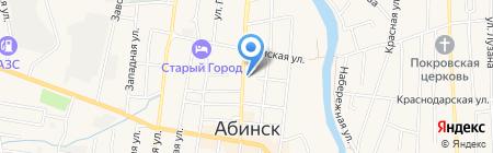 Сервис-ЮГ-ККМ на карте Абинска