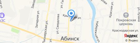 РОВД по Абинскому району на карте Абинска