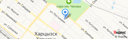 ДЮСШ №2 на карте Харцызска