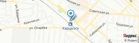 Канцелярия+ на карте Харцызска
