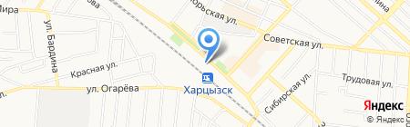 Нико на карте Харцызска
