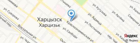 Модняшка на карте Харцызска