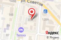 Схема проезда до компании Крайинвестбанк в Абинске