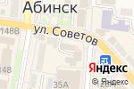 Схема проезда до компании Следственный отдел по Абинскому району в Абинске