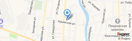 Юго-Западный банк Сбербанка России на карте Абинска