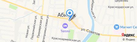 Мов-фарм на карте Абинска