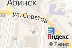Схема проезда до компании Музей Абинского района, МУП в Абинске