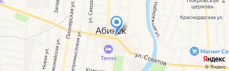 Нотариус Толстолуцкая Л.Н. на карте Абинска