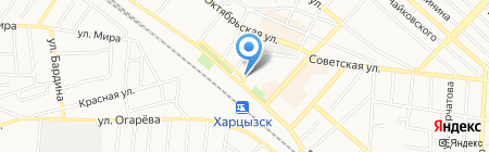 РАДІУС на карте Харцызска