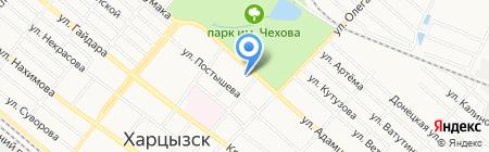 Центр детского и юношеского творчества на карте Харцызска