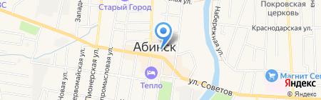 Ценопад на карте Абинска