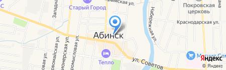 Первый на карте Абинска