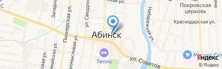 Домашние сети на карте Абинска