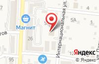 Схема проезда до компании КБ Кубань Кредит в Абинске