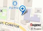 Абинская библиотека, МБУК на карте