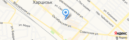 Банкомат ОЩАДБАНК ПАО на карте Харцызска
