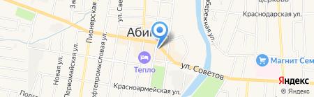 Мир посуды на карте Абинска