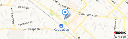 Торгово-сервисный центр на карте Харцызска