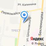 Инвитро Тула на карте Узловой
