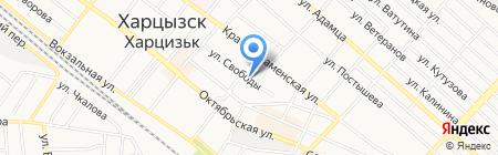 Олимп на карте Харцызска
