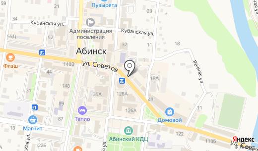 Салон фотографии. Схема проезда в Абинске