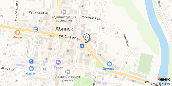 Электромастер. Схема проезда в Абинске