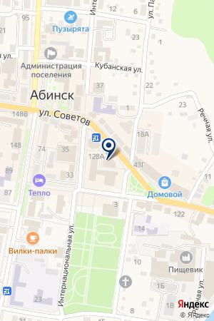 Континент на карте Абинска