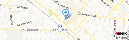 Эталон на карте Харцызска