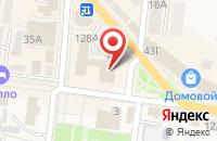 Схема проезда до компании Константа в Абинске