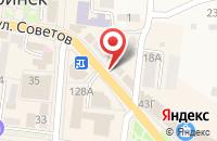 Схема проезда до компании Giros в Абинске