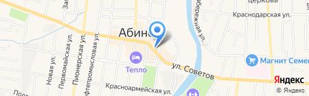 Когорта на карте Абинска