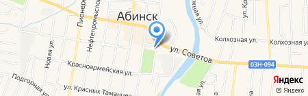 Банкомат Совкомбанк на карте Абинска