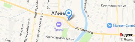БТИ на карте Абинска
