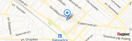 Харцызский машиностроительный завод на карте Харцызска
