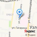 Автоклуб71 на карте Узловой