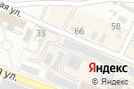 Схема проезда до компании Автостоянка в Харцызске