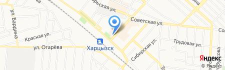 Жемчуг на карте Харцызска