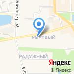 Детский сад №1 общеразвивающего вида на карте Узловой