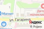Схема проезда до компании Магазин продуктов в Узловой