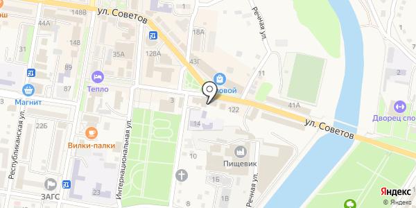 Анкор. Схема проезда в Абинске