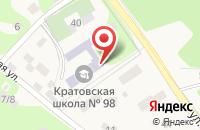 Схема проезда до компании Средняя общеобразовательная школа №98 в Кратово