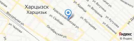 Июнь на карте Харцызска