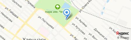 ПАРИТЕТ на карте Харцызска