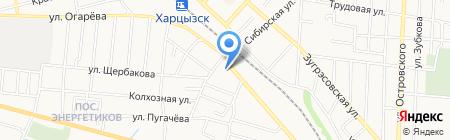 Автодоктор на карте Харцызска