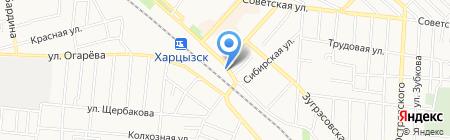 Шиномонтажная мастерская на карте Харцызска