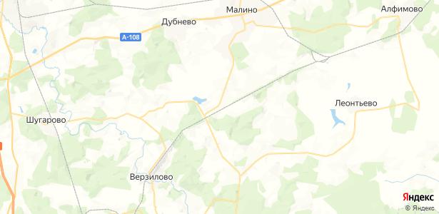 Сотниково на карте