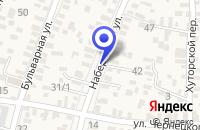 Схема проезда до компании ПРИМОРСКО-АХТАРСКАЯ СПАСАТЕЛЬНАЯ СТАНЦИЯ в Приморско-Ахтарске