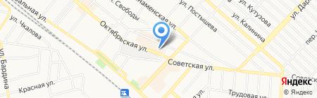 Форнетті на карте Харцызска
