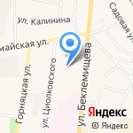 Центр развития ребенка-детский сад №20 на карте Узловой