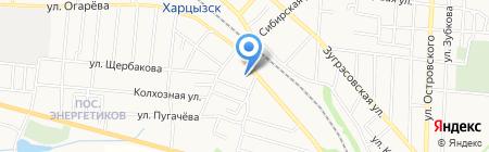 Застройщик на карте Харцызска